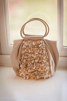 Adorable bridal handbags!