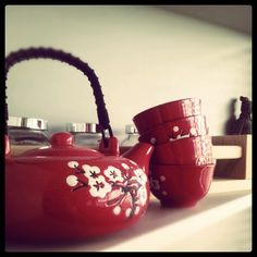 My Japanese tea set