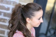 How to Get the Perfect Ponytail | Cute Girls Hairstyles