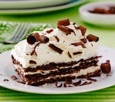 No-Bake Chocolate Lasagna
