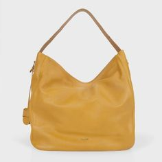 Paul Smith Mustard Yellow Westbourne Bag ($1,780) ❤ liked on Polyvore