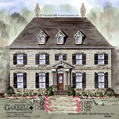 Garrell Associates Inc West Hampton House Plan 01209