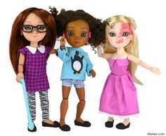 """Thanks to the #ToyLikeMe campaign calling for diversity in dolls, a Dolls with Disabilities range has been launched. The campaign was initiated by parents of disabled children to makeover toys in a call for a """"better representation and diversity in the toy box"""" as they wrote on their Facebook page."""
