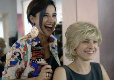 "Kasia Smutniak e Luisa Ranieri in ""Allacciate le cinture"""