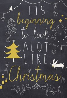 it's beginning to look a lot like christmas | lizzie mackay 2013 illustration