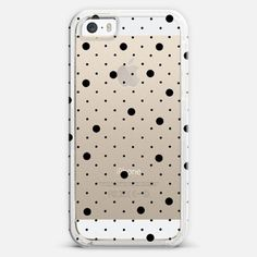 #black #transparent #spots #polka #dots #projectm #casetify #iPhone #case