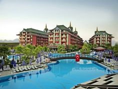Siam Elegance Hotel & Spa Boğazkent Siam Elegance Hotels & Spa is situated in the Mediterranean coast, overlooking the sea. It features an aqua park with water slides, a spa with a Turkish bath and 8 food outlets. Each room has a private balcony.