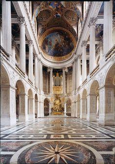 La Chapelle #2, Chateau de Versailles, 2007, colour photograph, 54 × 40 inches, edition of 10