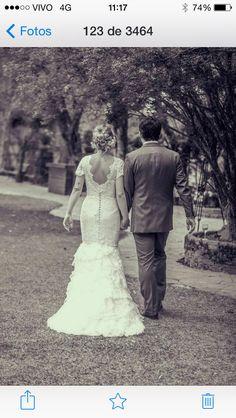 Nossa noivinha linda Katia Santos! ♡ Wedding Dress Atelier Carla Gaspar.