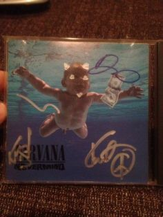 Signed Nirvana Nevermind Album All 3 Members Super RARE | eBay