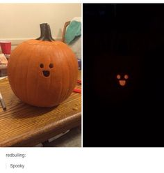 I know how I'm carving a pumpkin this Halloween