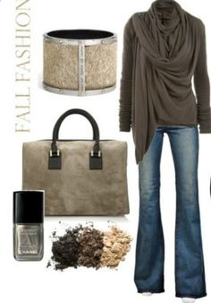 Love this!  Nice, outfit for Fall.