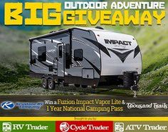 usa freebies daily - Win a Recreational Vehicle & 1 Yr Camping Pass from RV Trader Big Outdoor Adventure Giveway.
