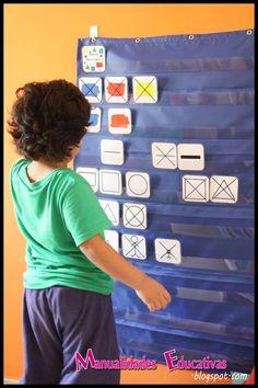Tarjetas Atributos Bloques Lógicos para Imprimir Gratis – Creciendo Con Montessori