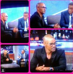 Shemar Moore on the Arsenio Hall Show