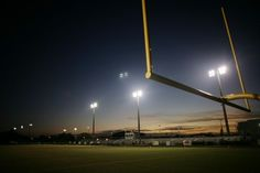 Friday night football games.. :D HEAVEN
