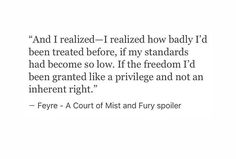 This makes me so happy every time I reread ACOMAF bc this is while Feyre realises Tamlin is douche