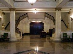 Indiana Freemason's Hall - Main Foyer, book through Scottish Rite Events