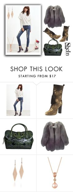 """Shein"" by loveliest-back ❤ liked on Polyvore featuring Lanvin, Handle, Paul & Joe, Tiffany & Co. and LE VIAN"
