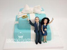 Tiffany Nişan Pastası