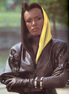 "Grace Jones in ""A View to a Kill"", 1985"