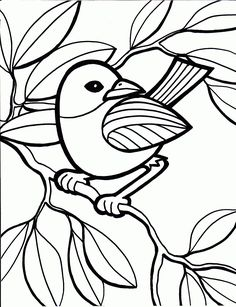with these bird coloring pages family and learning time is never far away from free kids