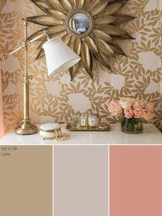 Latte Brown Color Palette