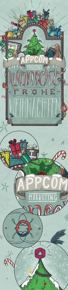 christmas greetings   merry christmas   doodle   scribble   illustrator   design   lettering   handlettering   email   appcom