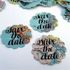 Cute and quirky stationery designs for the inventive bride. Photo via K is for Calligraphy.