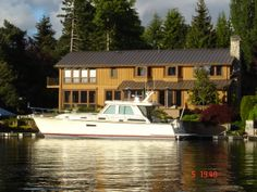 If you see this Sabre 48 Salon Express on Lake Washington in Seattle give her a wave from us!