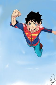 SuperBoy DC Rebirth (Day) by xabdcm10.deviantart.com on @DeviantArt