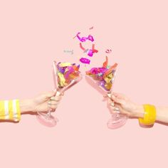 Cheers to the weekend dolls! Surrealism Photography, Color Photography, Creative Photography, Pink Aesthetic, Cheers, Art Direction, Confetti, Instagram, Happy Birthday