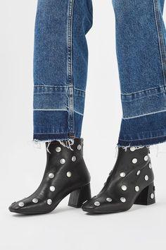 Mistletoe Studded Boots