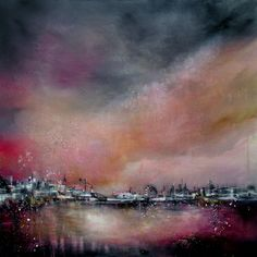 """Saatchi Online Artist Alison Johnson; Painting, """"When The Circus Came To Town"""" #art"""