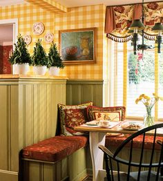 Classic Christmas Chic:   Lime green adds a punch of designer color to a traditional red-and-green Christmas palette. A touch of this bright color lets you update holiday decorating without starting over.
