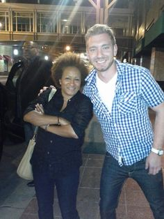 Wanda Sykes in the Streets of Downtown