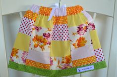 Patchwork baby/toddler Skirt by BlueKangarooHandmade on Etsy