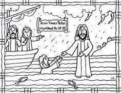 doubting thomas coloring page - Google Search