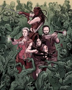 The Walking Dead - David M. Buisán