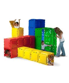 Another great find on #zulily! Bright Building Panel Set by BrikABlok #zulilyfinds