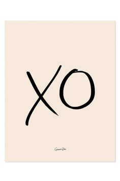 "Fill your home with a simple statement of love by hanging this oversized Garance Doré print.Dimensions: Measures 18"" x 24"".Details: Bright white cover paper, archival full color.Rifle Paper Co. is a stationery and lifestyle brand founded and owned by husband and wife team, Anna and Nathan Bond. T..."