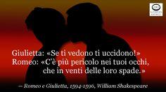 Secondo te esiste l'amore eterno?  Giulietta: «Se ti vedono ti uccidono!» Romeo: «C'è più pericolo nei tuoi occhi, che in venti delle loro spade.» — Romeo e Giulietta, 1594-1596, William Shakespeare (Stratford-upon-Avon, 23 aprile 1564 – Stratford-upon-Avon, 23 aprile 1616), drammaturgo e poeta inglese.