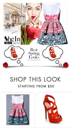"""""""Untitled #628"""" by suad-nisveta-mesic ❤ liked on Polyvore featuring beauty, H&M and Prada"""