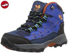 Lico Jungen Ringo Trekking-& Wanderstiefel, Blau (Blau/Marine/Orange), 32 EU - Lico schuhe (*Partner-Link)