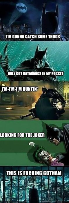 Thrift Gotham…