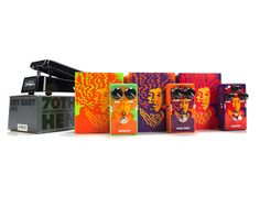 Packaging of the World: Creative Package Design Archive and Gallery: Jimi Hendrix 70th Anniversary Tribute Series. Perfect #packaging for the brand PD