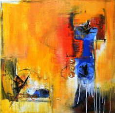 Abstract Art Acrylic painting by Stefanie Seiler