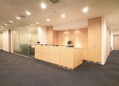 Reception    rental office  レンタルオフィス受付