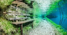 Every Spring This Park In Austria Disappears Under Water. When I get the chance I'm going to go here