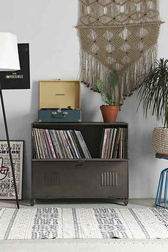 4040 Locust Rolling Media Console - Urban Outfitters